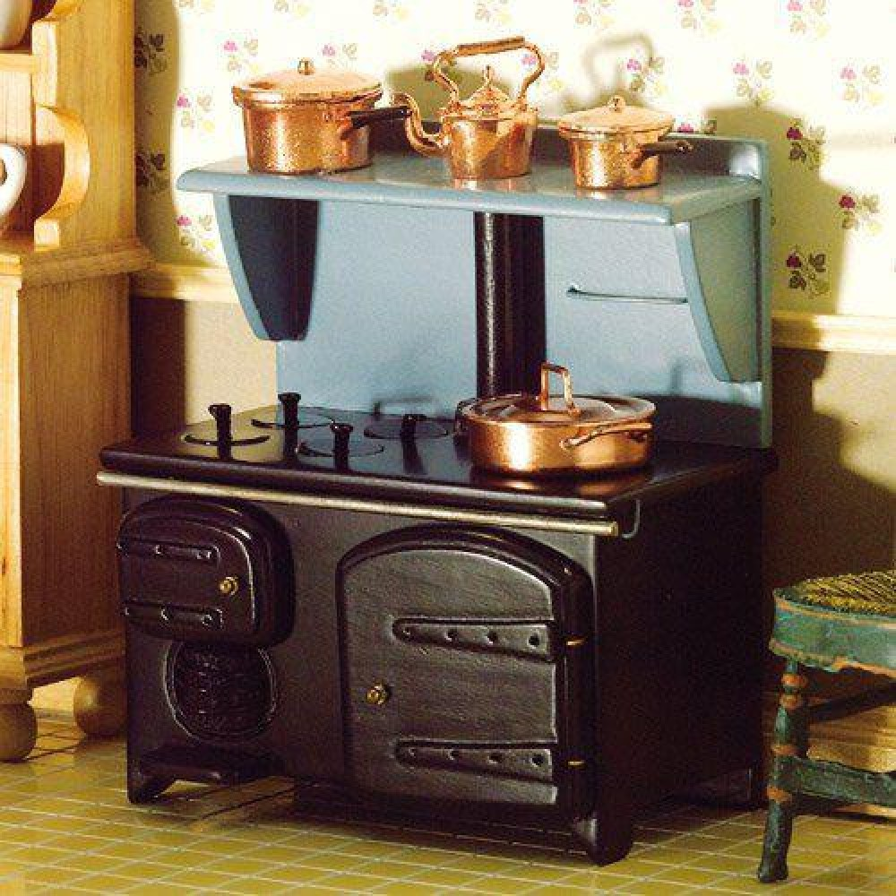 The Dolls House Emporium Victorian Stove With Shelf