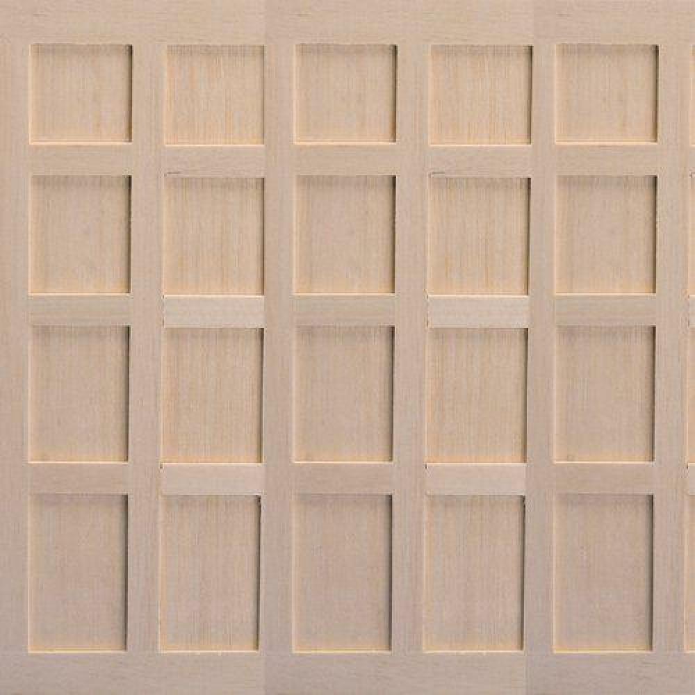 The Dolls House Emporium Tudor Style Wood Panels 3 Pcs
