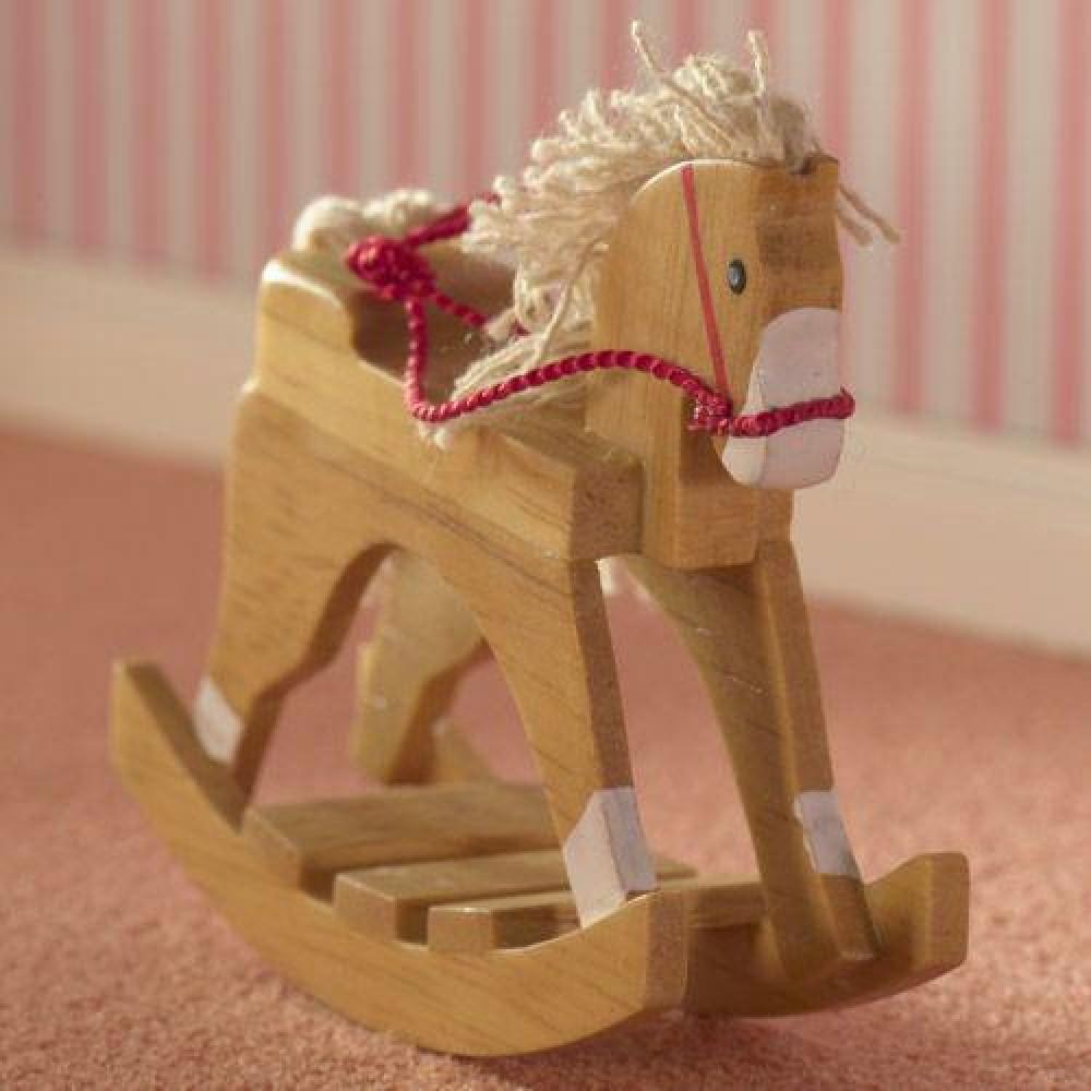 The Dolls House Emporium Wooden Toy Rocking Horse