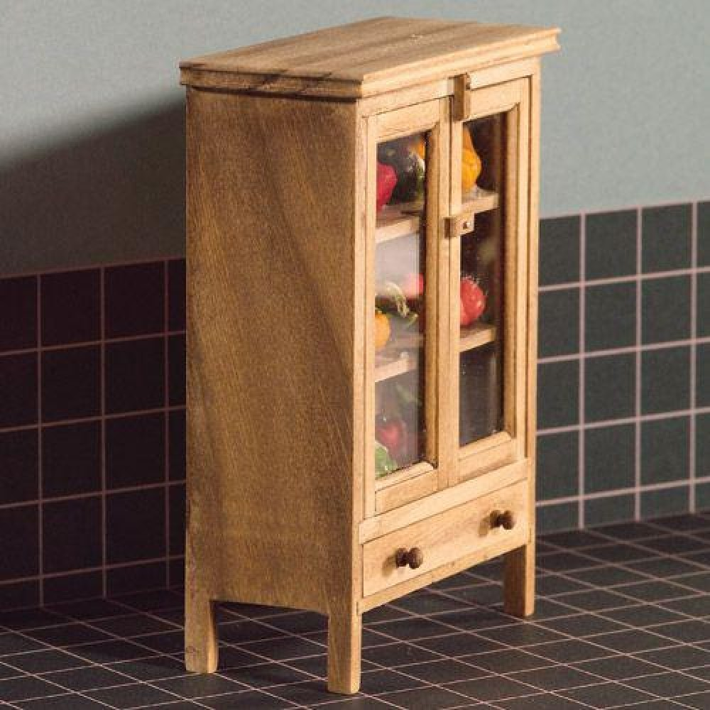 The Dolls House Emporium Wooden Meat Safe