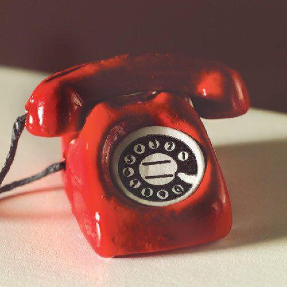 The Dolls House Emporium Red Telephone