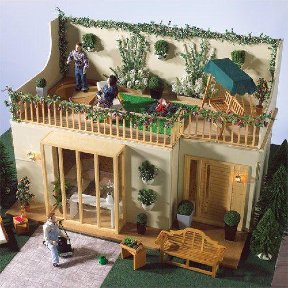 The dolls house emporium lake view garden room kit for Garden rooms kits