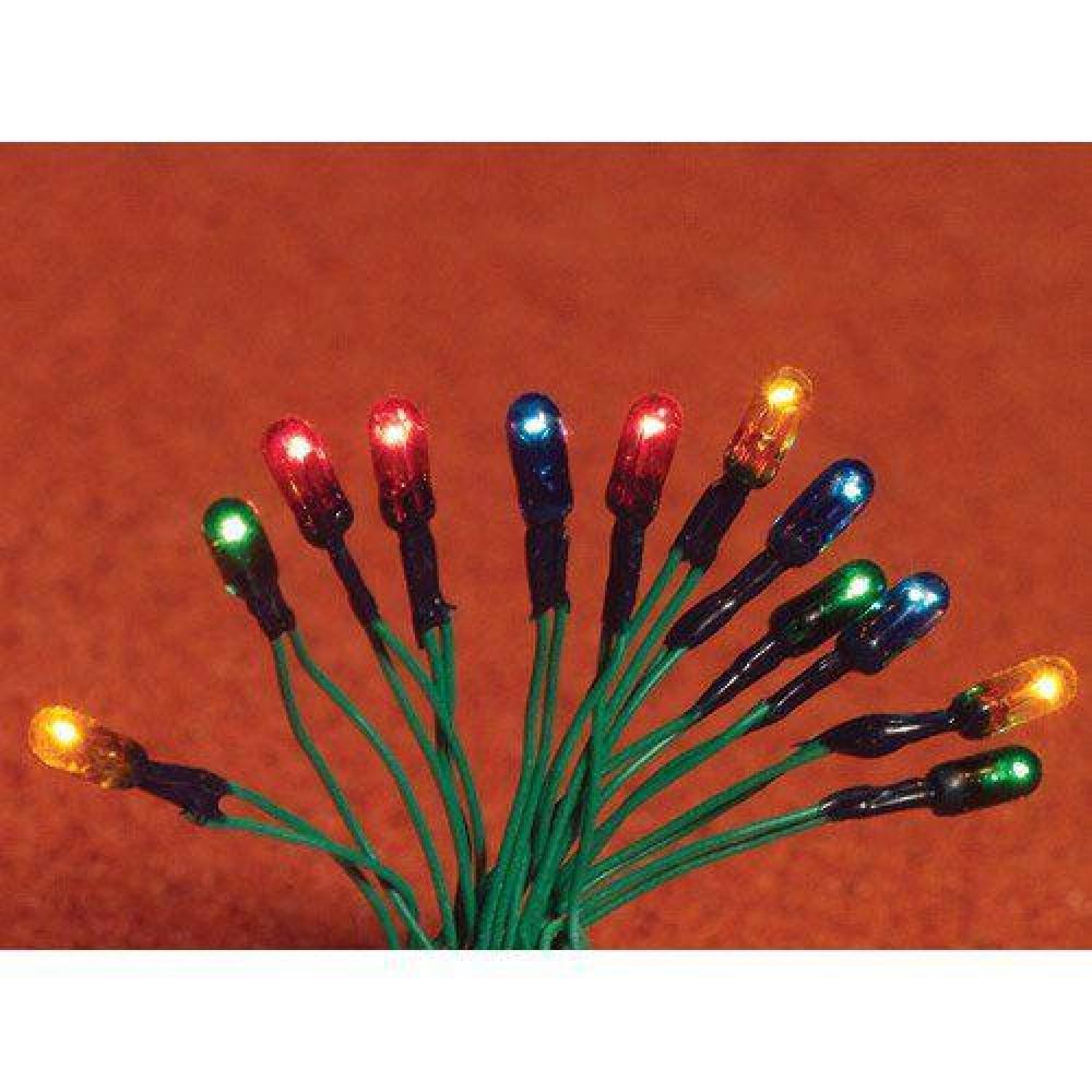 christmas tree lights 12 bulbs - Dollhouse Christmas Lights