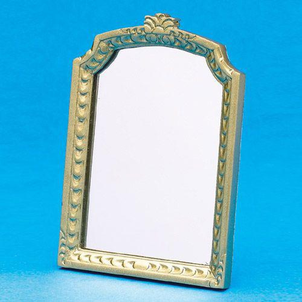 The dolls house emporium ornate large mantel mirror for Mantel mirrors