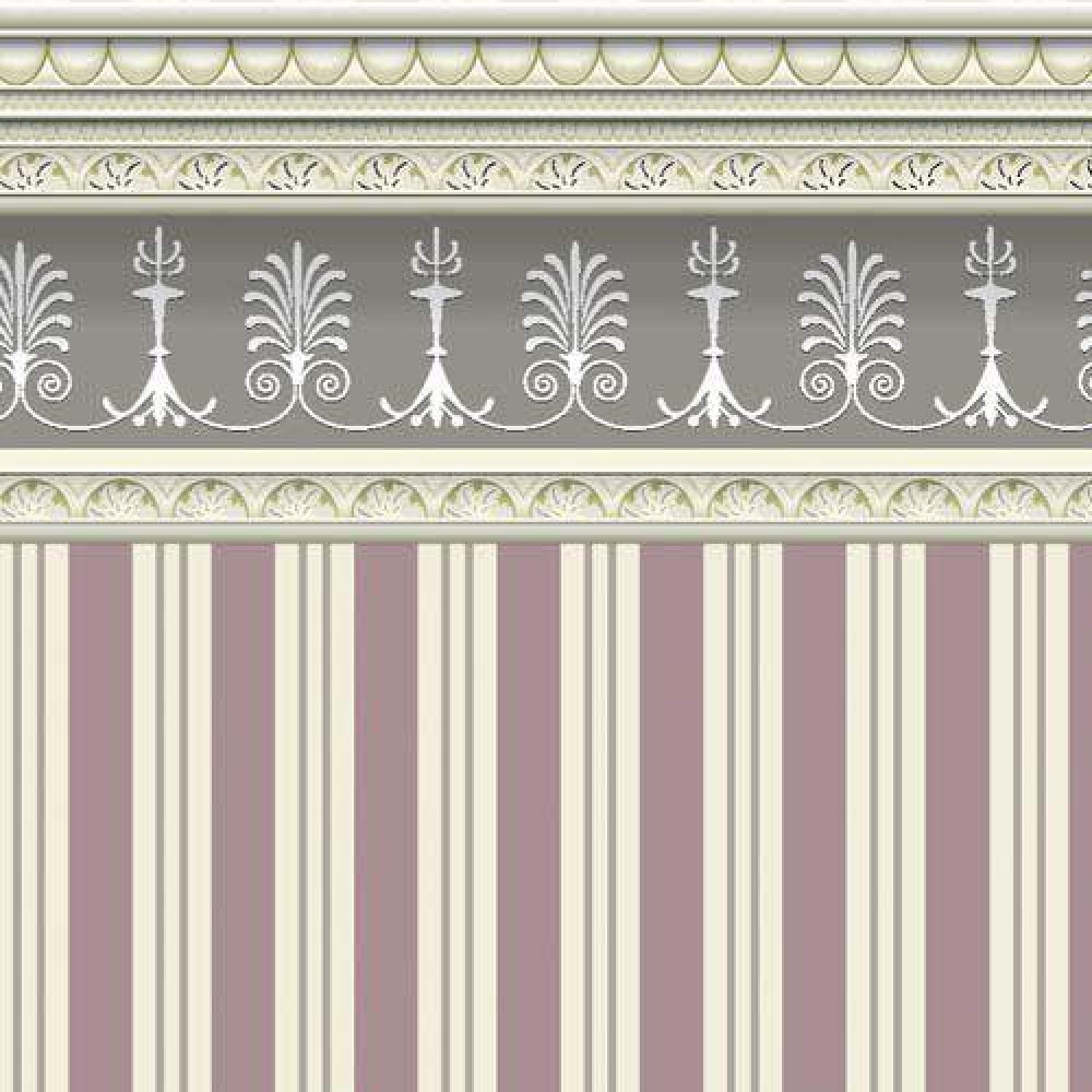 The Dolls House Emporium Heather Stripe Wallpaper