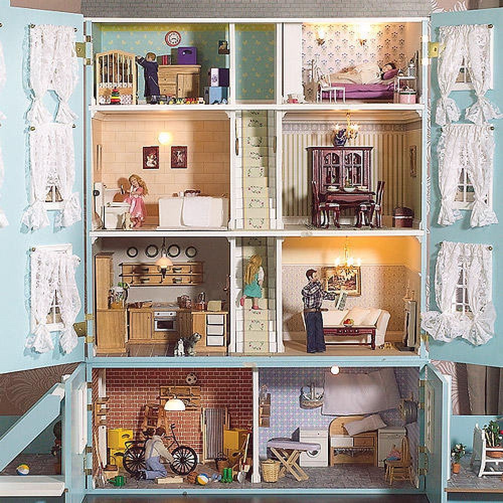 The Dolls House Emporium The Classical Dolls House - Dolls house interior