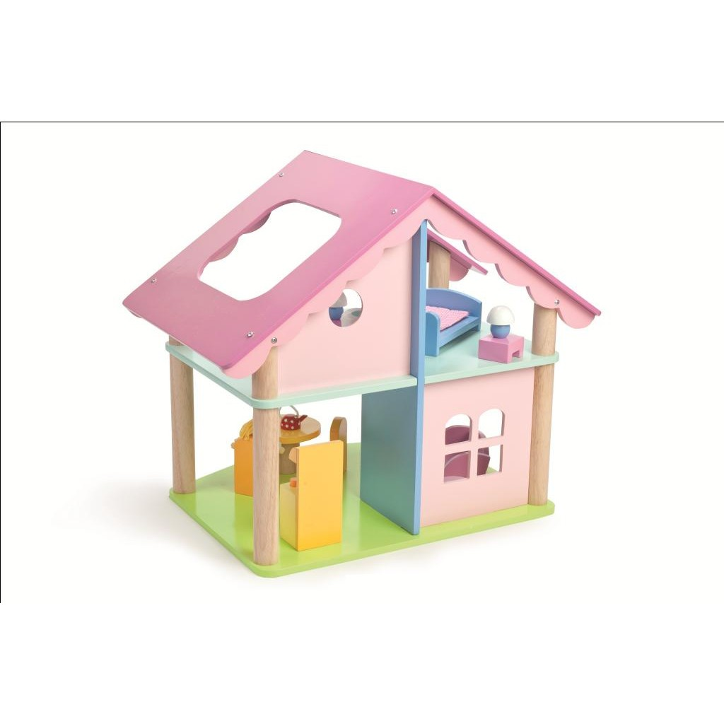 Le Toy Van Mia Casa With Furniture And Doll