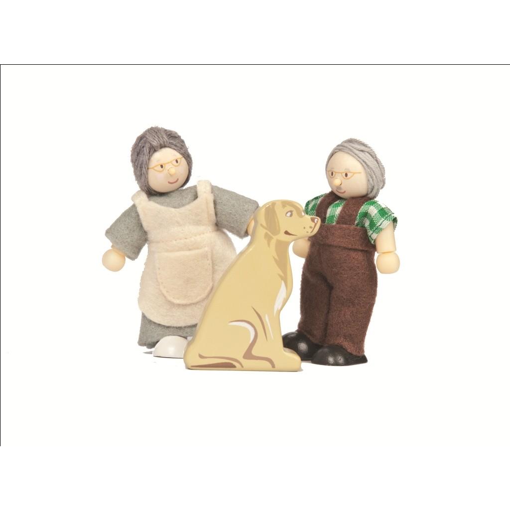 Toys For Grandparents House : Le toy van grandparents doll set