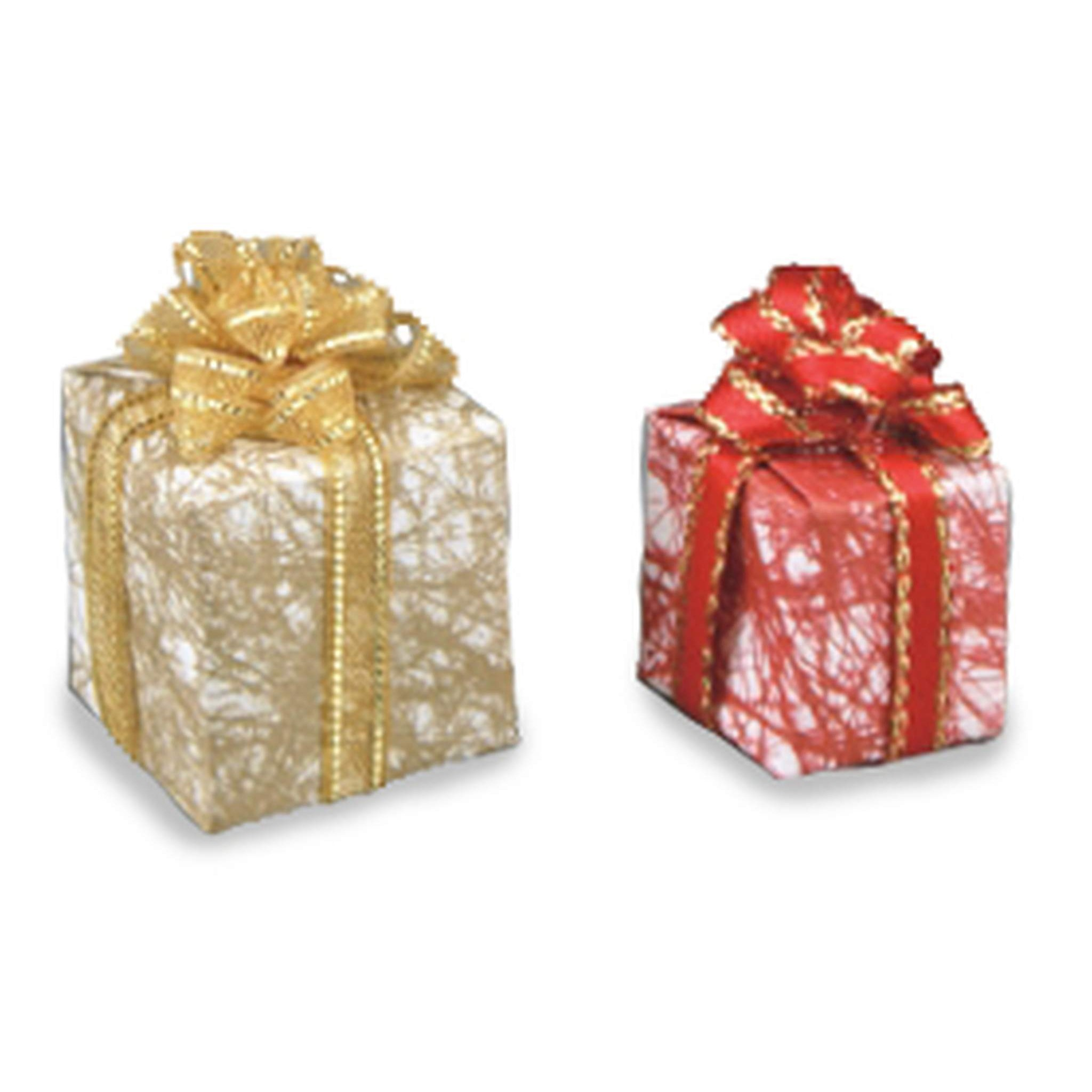 Reutters gift wrapped presents 2 pieces negle Images