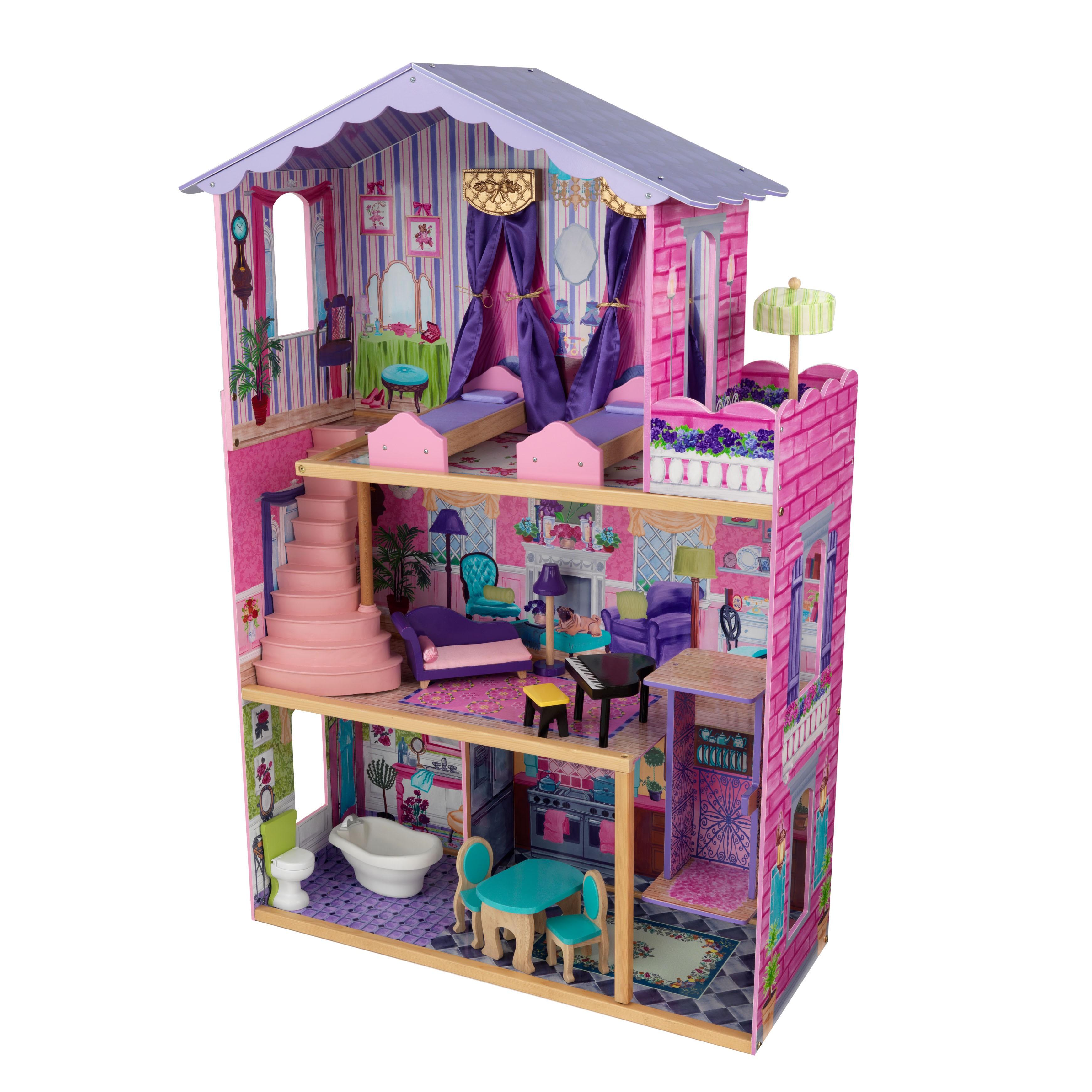 kidkraft my mansion dolls house