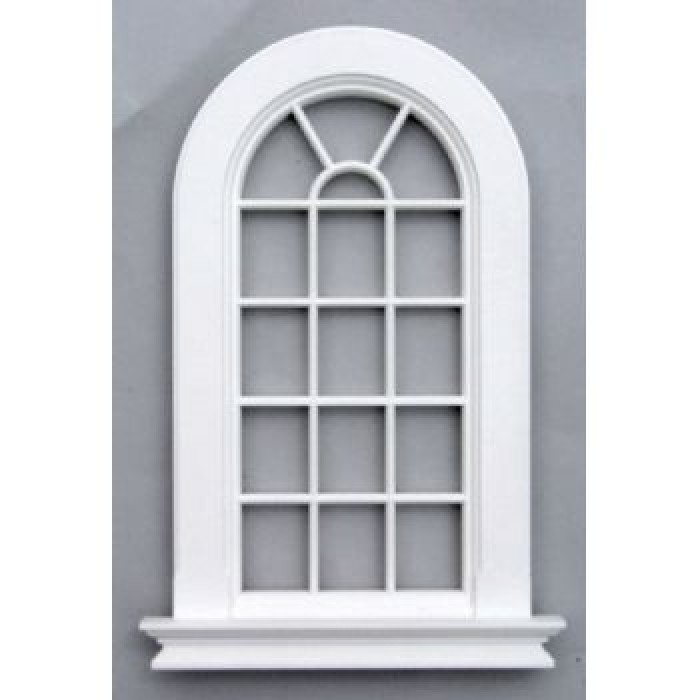 streets ahead plastic round top window