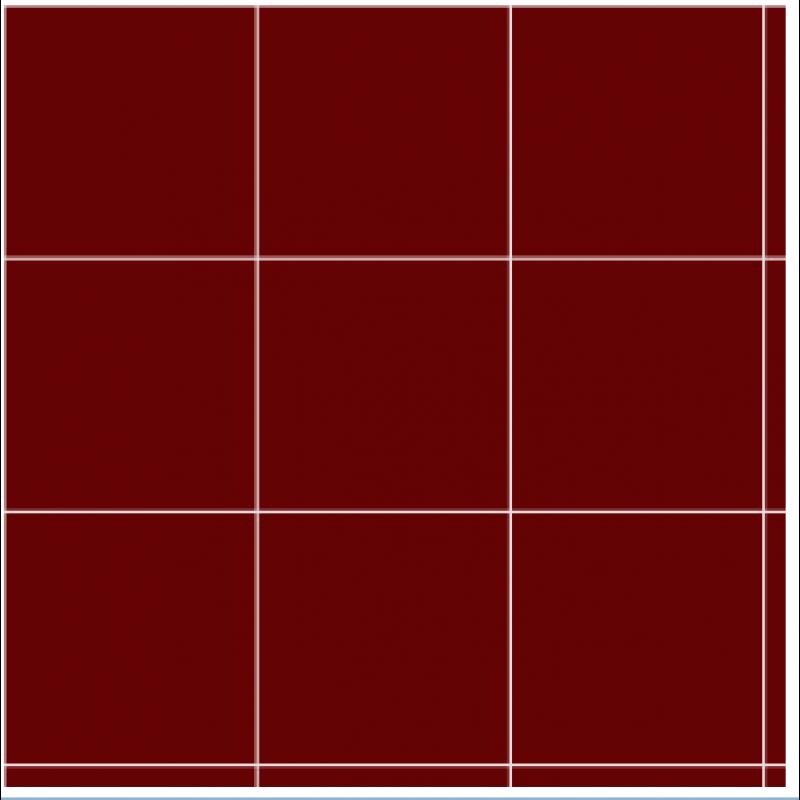 """3/4"""" Dark Red Vinyl Tiles, 50 Pack"""