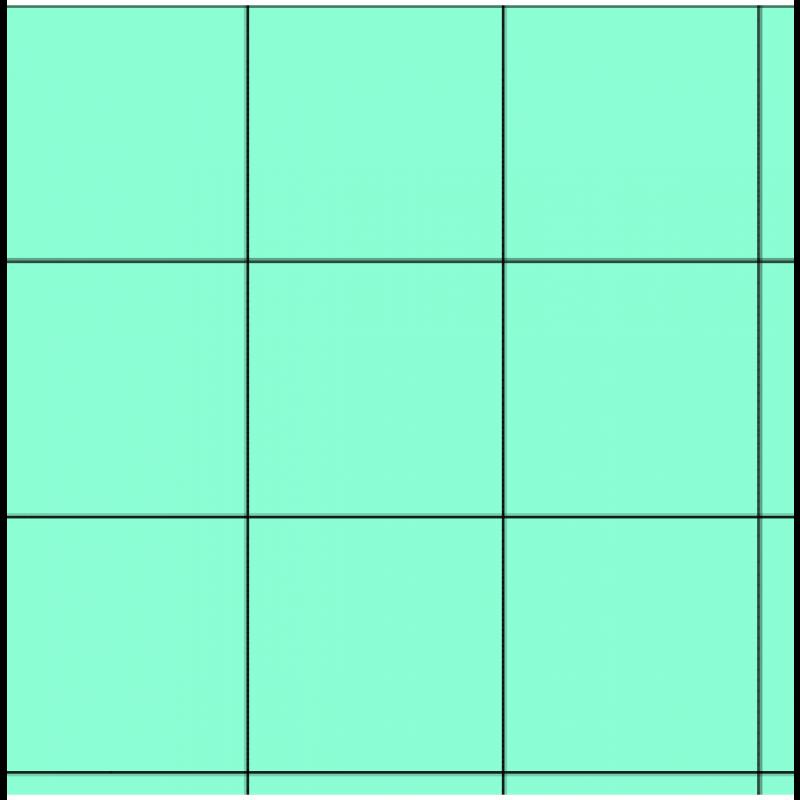 """3/4"""" Mint Vinyl Tiles, 50 Pack"""