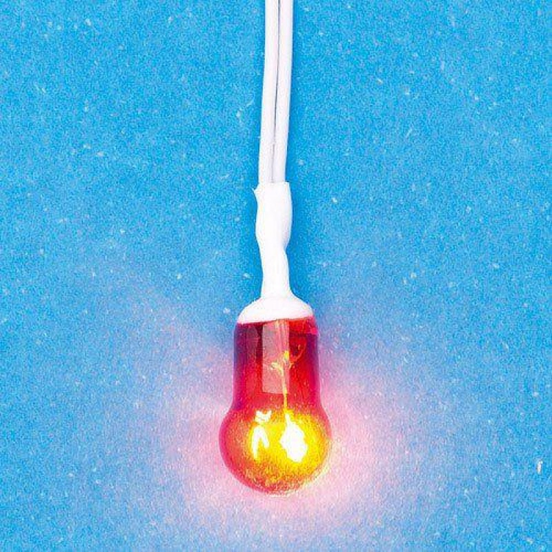 Battery-Powered Flashing Bulb