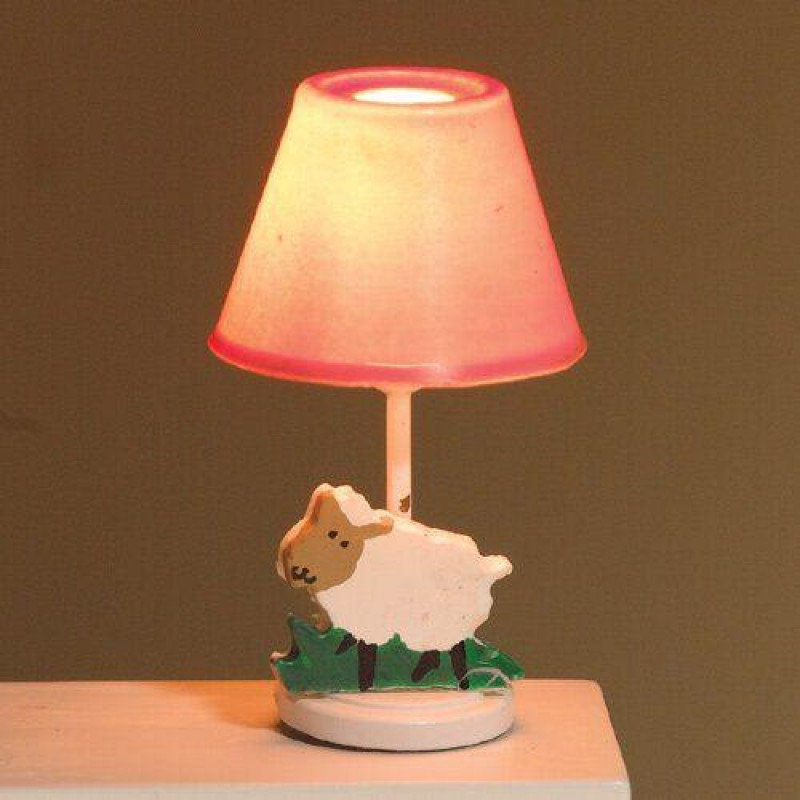 Pink Nursery Lamp 50 x 30mm
