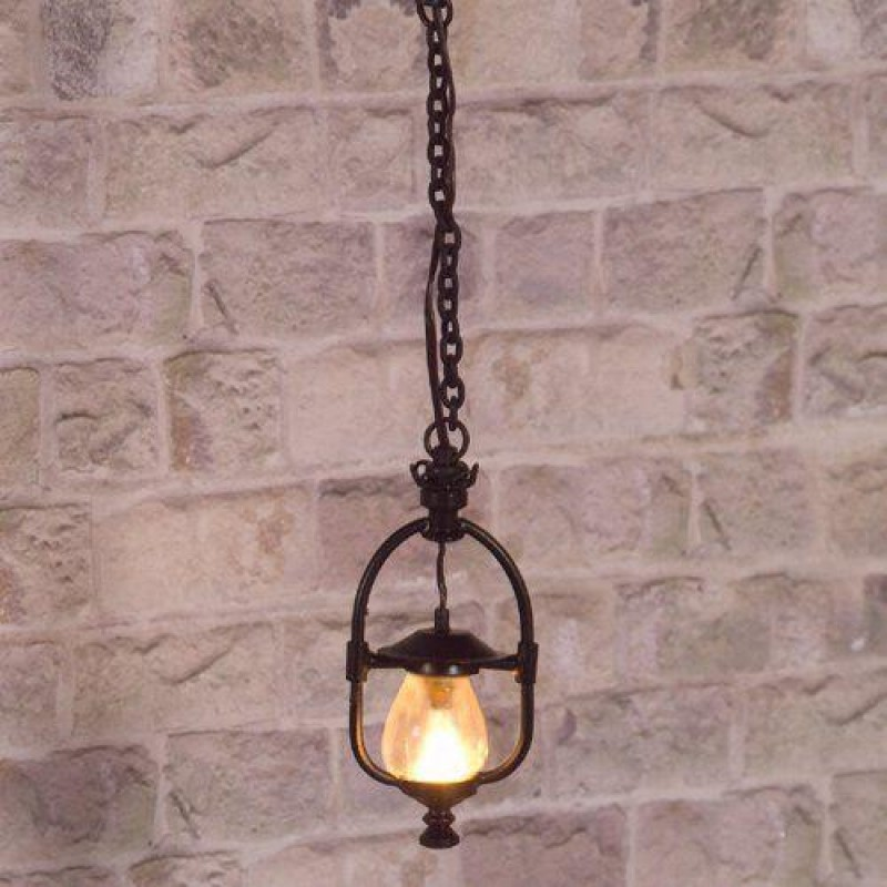 Victorian Gas Ceiling Light