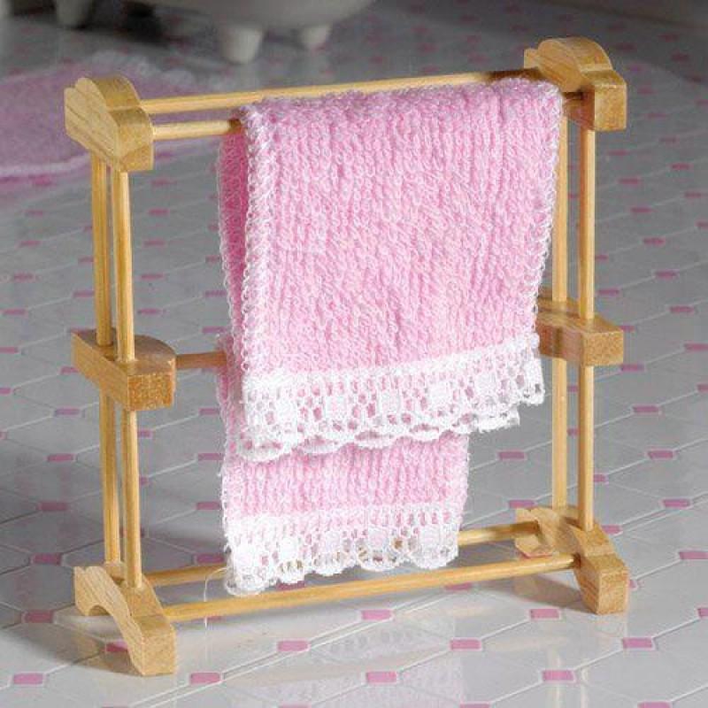 Natural Towel Rack