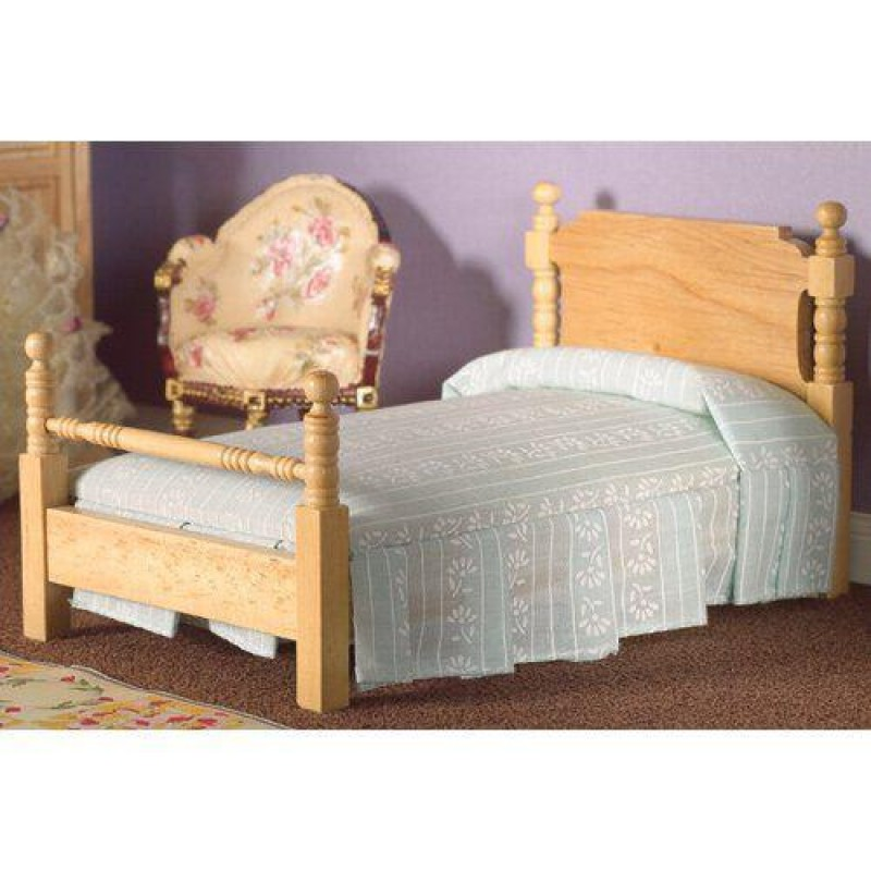 Victorian Pine Single Bed (L)