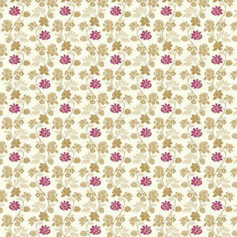 Gold & Pink Wallpaper 430 x 600mm