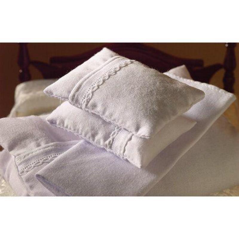White Double Bedding Set, 4 pcs