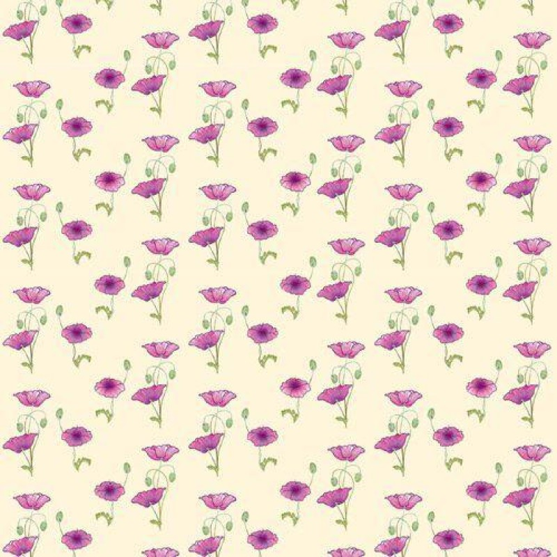 Pink Poppy Wallpaper 430 x 600mm