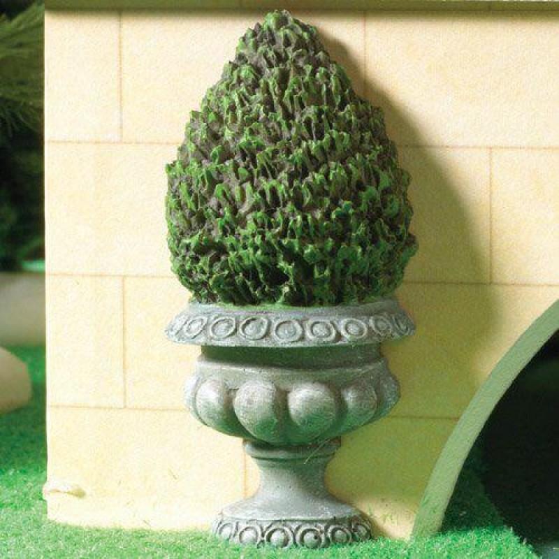 Flat-backed Topiary Bush (PR) 80mm