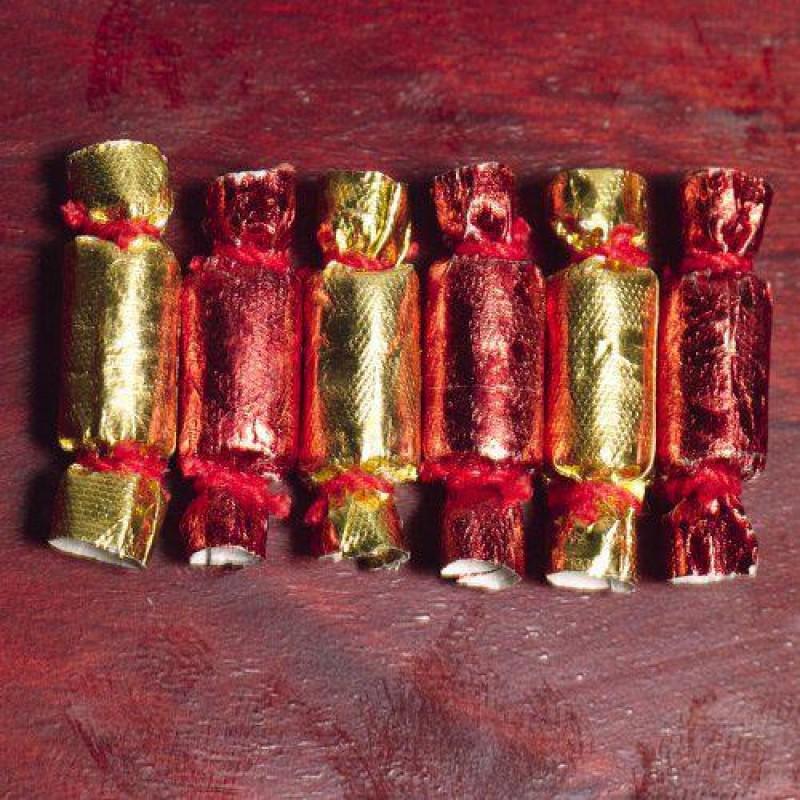 Christmas Crackers, 6 pcs