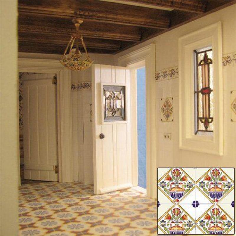 Arts & Craft Wall Tiles 52 x 50mm