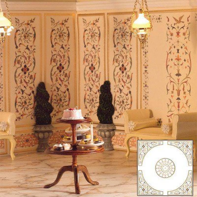 Elegance Ceiling Paper 184 x 184mm