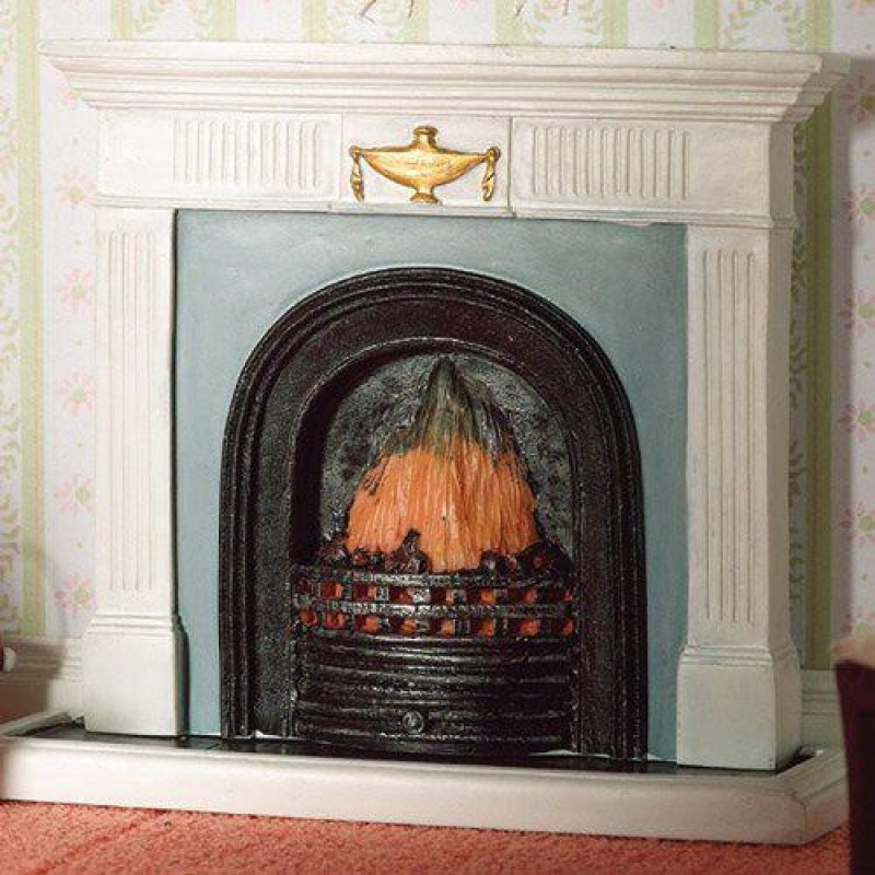 Georgian Fireplace with Hearth (PR)