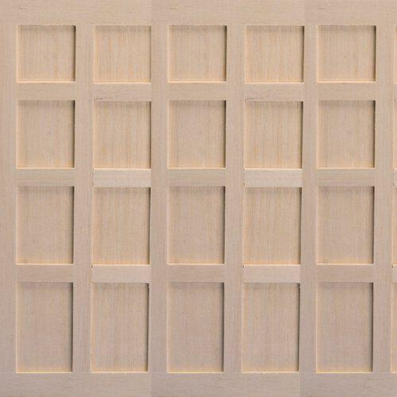 Tudor-Style Wood Panels, 3 pcs 180 x 100mm