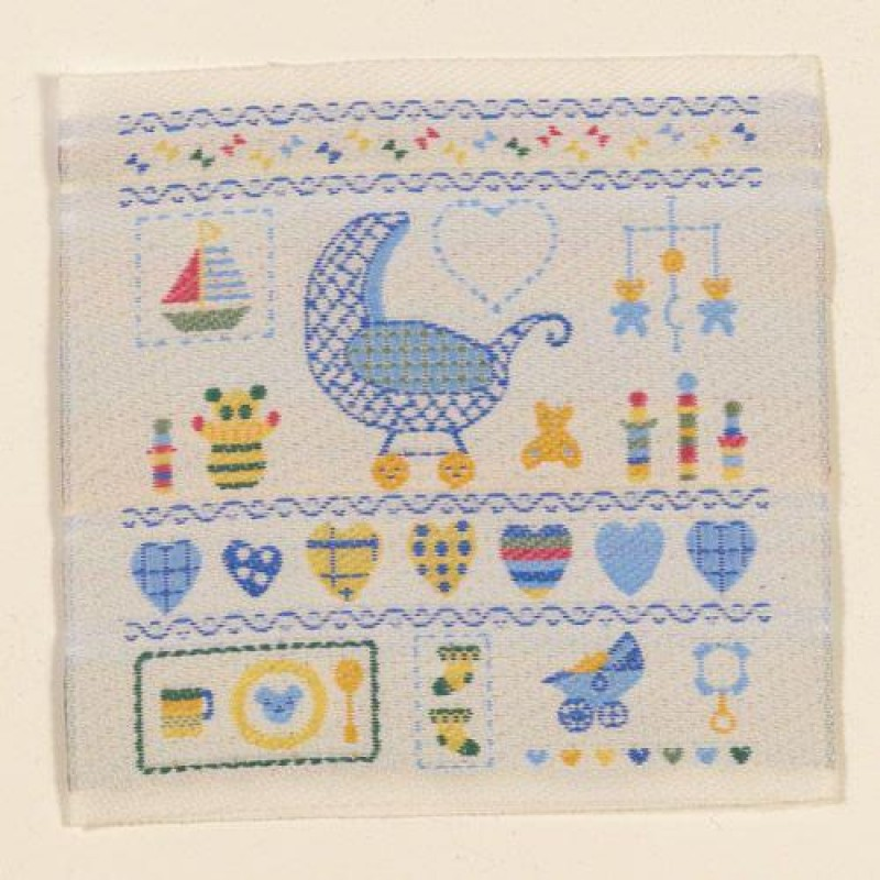 Baby Boys Motif Embroidery
