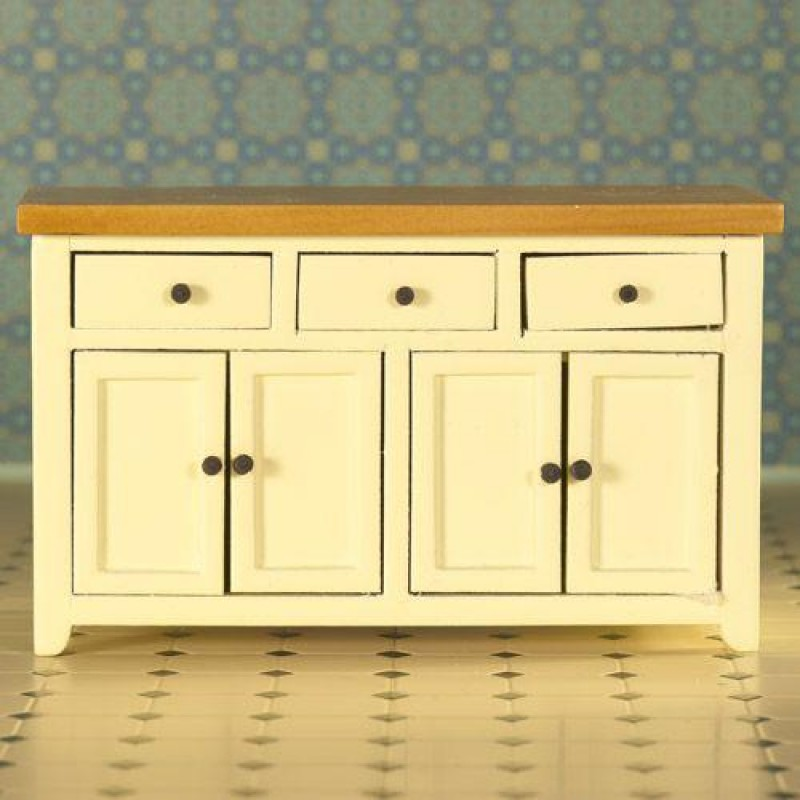 Cream Shaker-style Sideboard