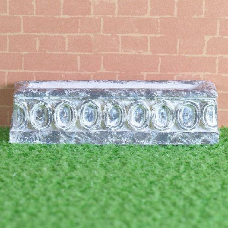Carved Stone Window Box (PR)