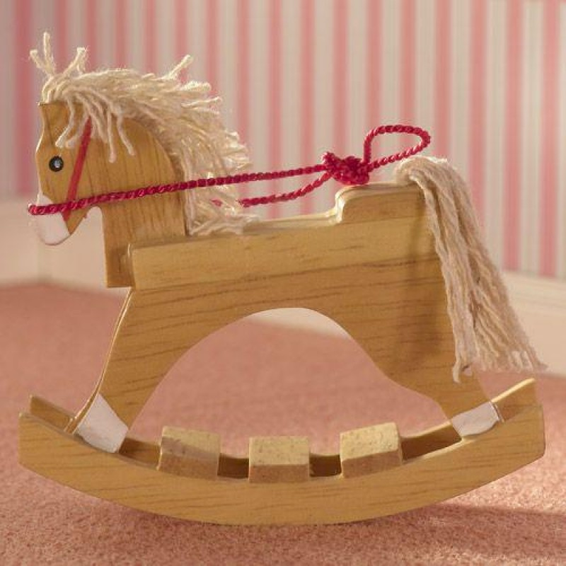 Wooden Toy Rocking Horse