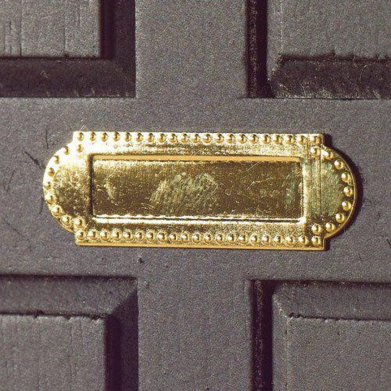 Letter Box,(Non-Opening) 10 x 29mm