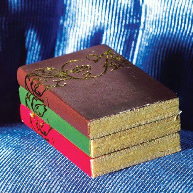 Books with Gold Pattern