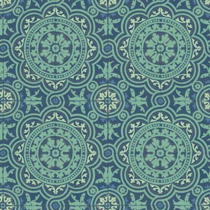 Patterned Tile Wallpaper 430 x 600mm