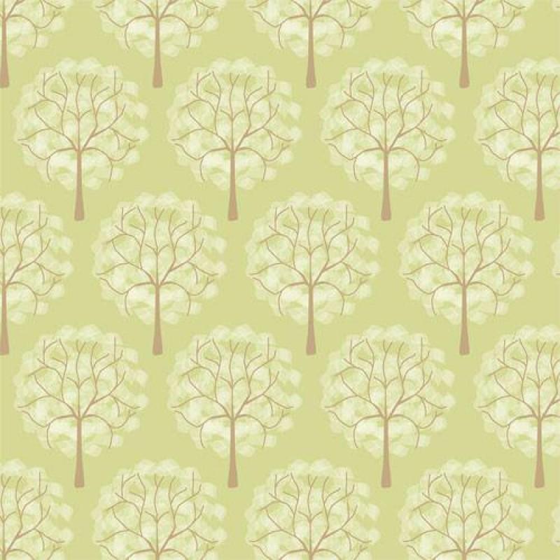 Leafy Green Tree Wallpaper 430 x 600mm