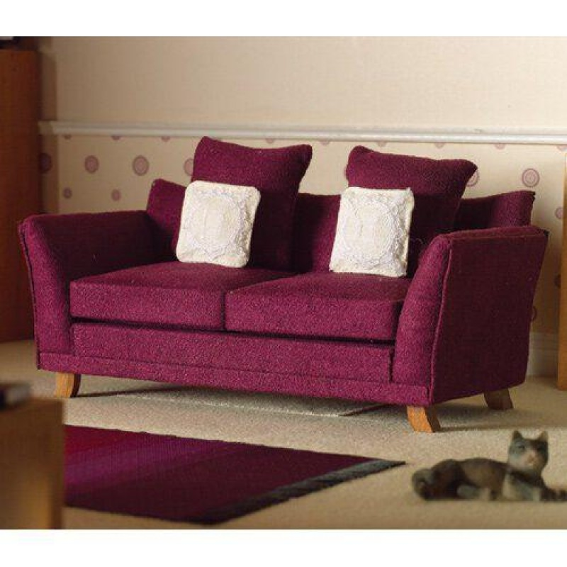 Soft Plum Sofa