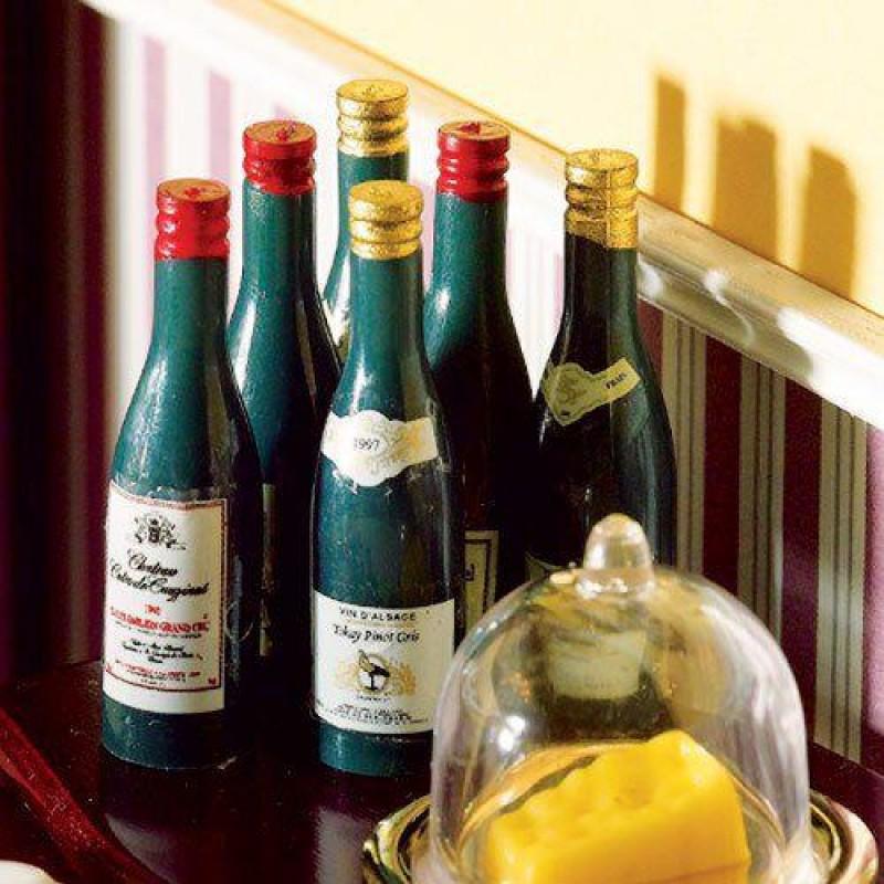 Bottles of Assorted Wine, 6 pcs