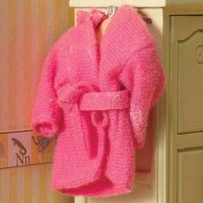 Pink Cosy Dressing Gown