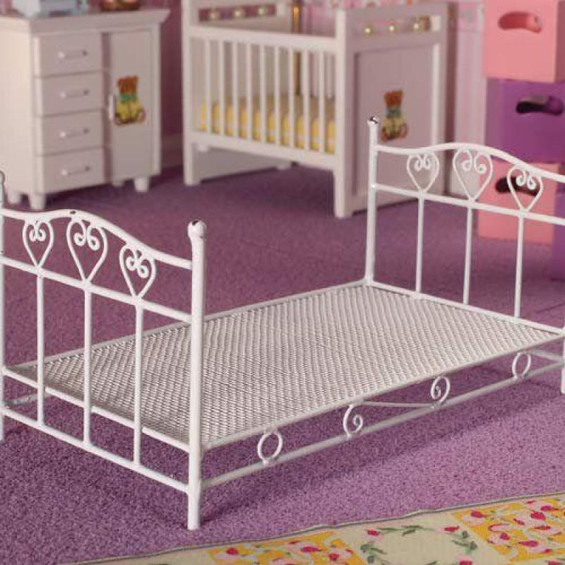 Pretty Hearts Single Bed