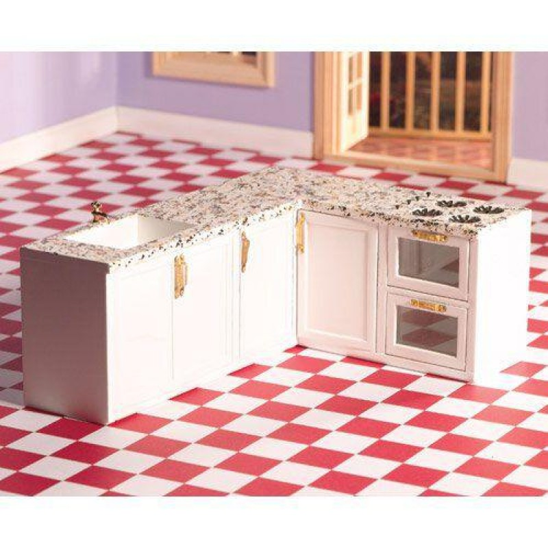 L-Shape All-in-One Kitchen