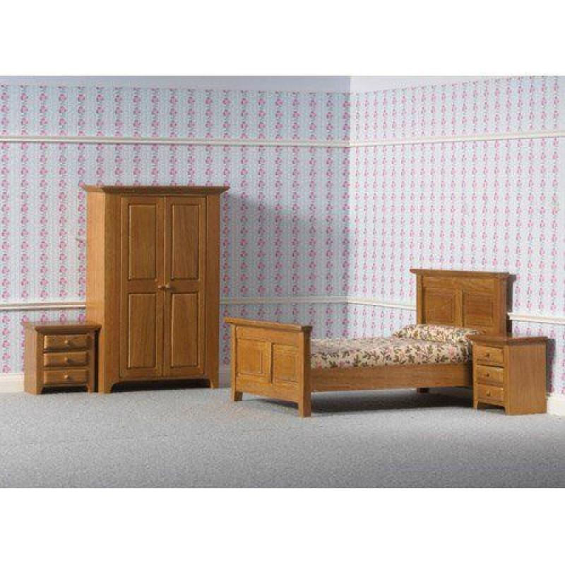 Country Bedroom Set, 4 pcs (L)