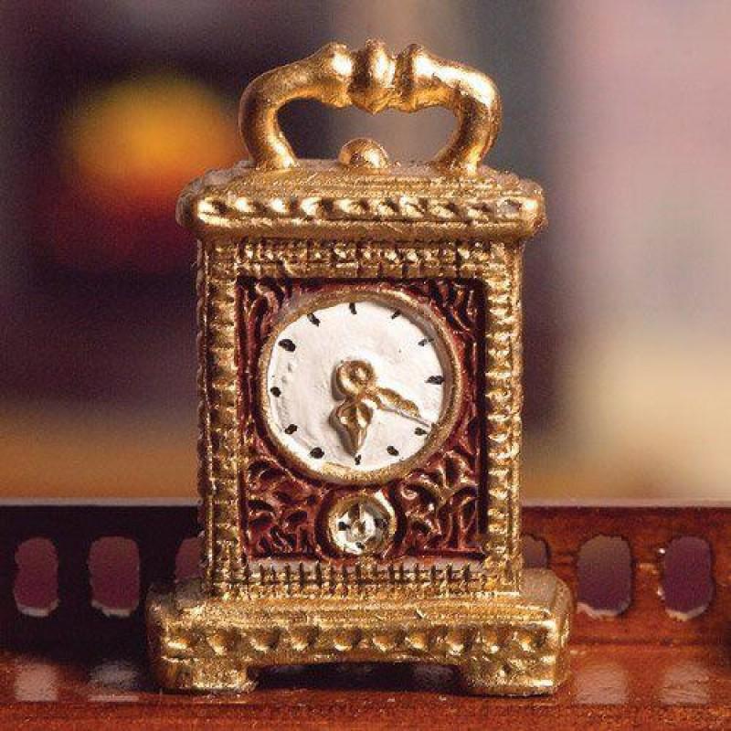 Gold Carriage Clock (PR)