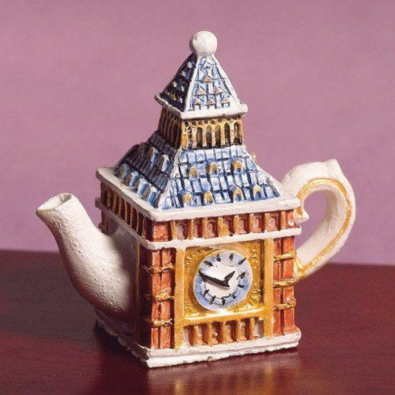Big Ben Sculptured Teapot (PR)