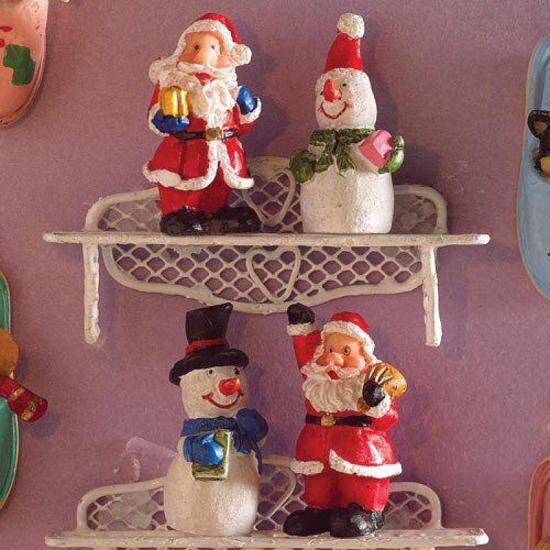 Festive Figurines, 4 pcs
