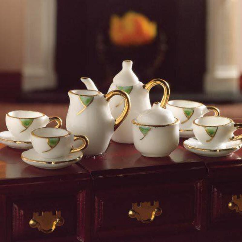 Falling Leaf Tea Set, 13 pcs