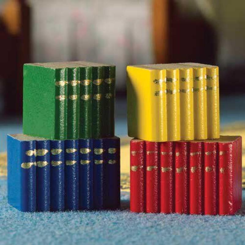 Blocks of Books, 4 pcs